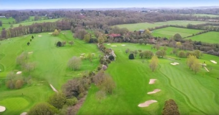 Take One TV - golf club drone footage